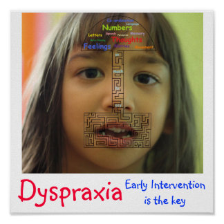 Dyspraxia - Early intervention is the key Print
