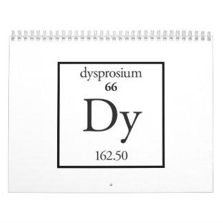 Dysprosium Calendario