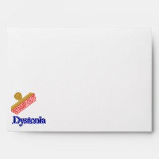 Dystonia Envelope