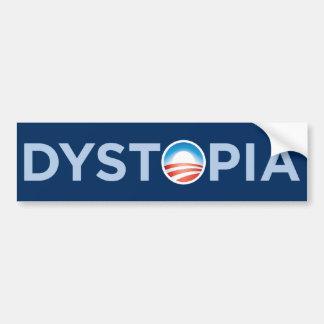 Dystopia Bumper Sticker Car Bumper Sticker