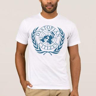 Dystopian Citizen - Dark Blue T-Shirt