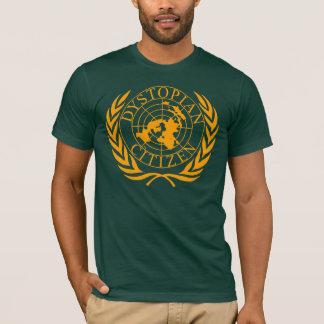 Dystopian Citizen - orange T-Shirt