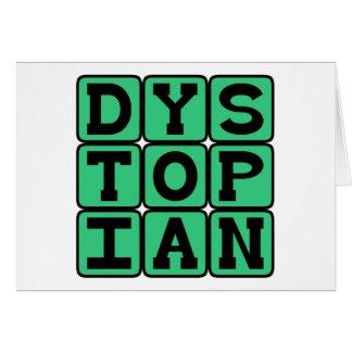 Dystopian, Miserable Society Card