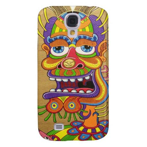 DyTrippy clown i phone 3 case Galaxy S4 Cases