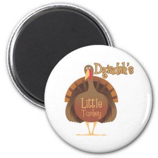 Dziadek's Little Turkey Magnets