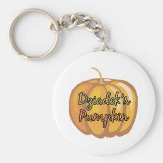 Dziadek's Pumpkin Keychain
