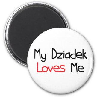Dziadek Loves Me Fridge Magnets