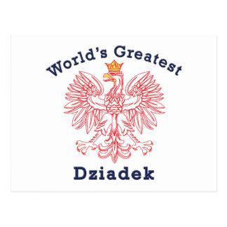 Dziadek más grande Eagle del mundo Postal