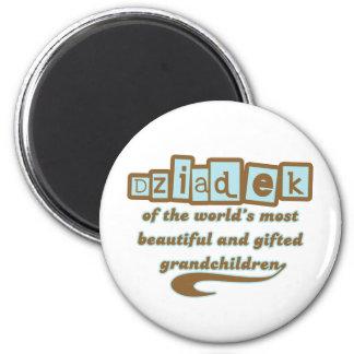 Dziadek of Gifted Grandchildren Magnets