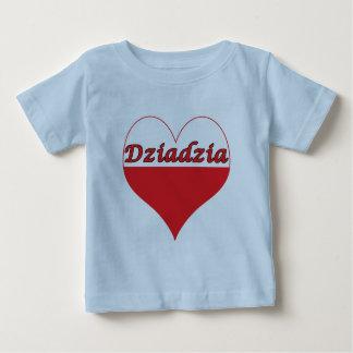 Dziadzia Polish Heart Tee Shirt
