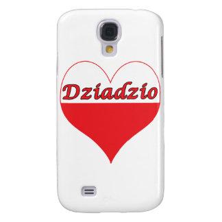 Dziadzio Polish Heart Galaxy S4 Cover