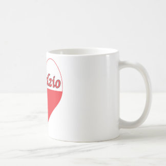 Dziadzio Polish Heart Classic White Coffee Mug