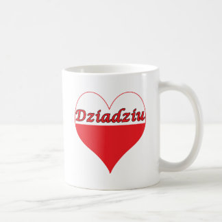 Dziadziu Polish Heart Coffee Mug