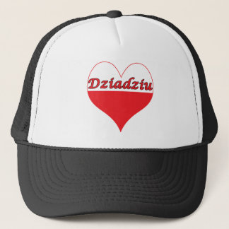 Dziadziu Polish Heart Trucker Hat