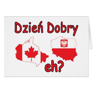 Dzien Dobry, eh? Card