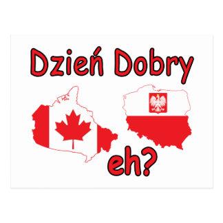 Dzien Dobry, eh? Postcard
