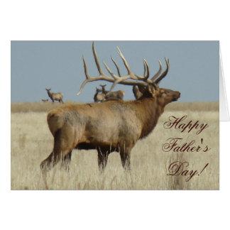 E0004 Bull Elk Greeting Cards