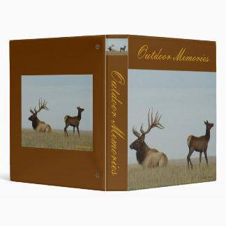 E0005 Bull Elk and Yearling Binder