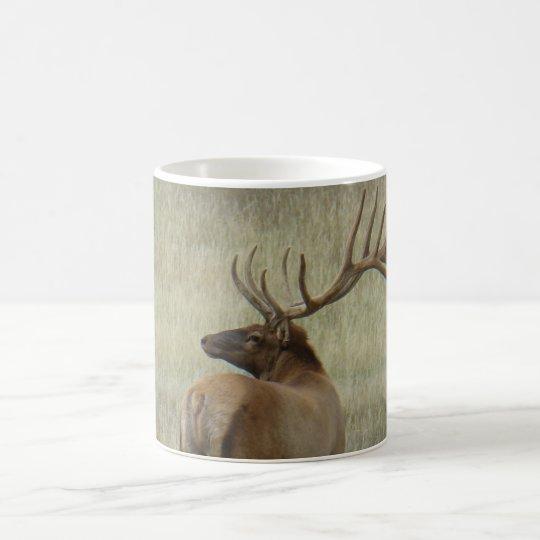 E0006 Bull Elk in Velvet Coffee Mug