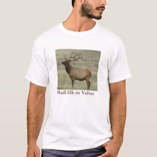 E0008 Bull Elk in Velvet T-Shirt
