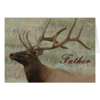 E0009 Bull Elk in Velvet Greeting Card