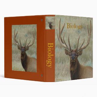E0010 Bull Elk in Velvet Head Binder