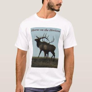 E0014 Bull Elk silhouette T-Shirt