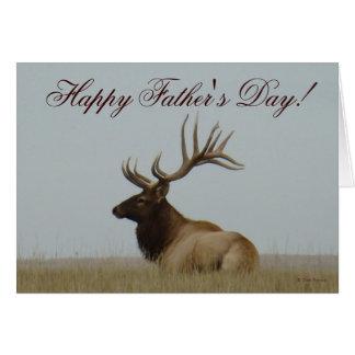 E0015 Bull Elk Card
