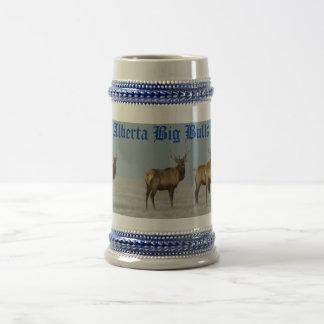 E0018 Bull Elk Beer Stein