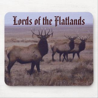 E0019 Bull Elk drop tines Mouse Pad
