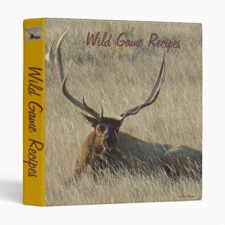 E0025 Bull Elk binder