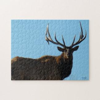 E0027 Bull Elk Jigsaw Puzzle