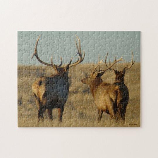 E0028 Bull Elk Jigsaw Puzzle