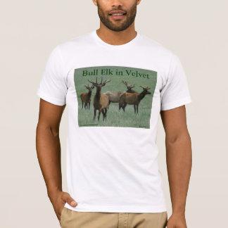 E0033 Bull Elk in Velvet T-Shirt