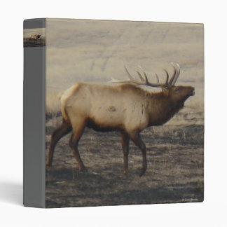 E0040 Bull Elk Bugler binder
