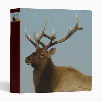 E0042 Bull Elk Head Binder