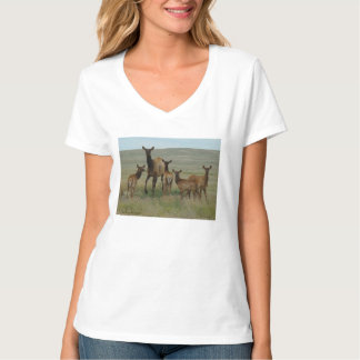 E0044 Cow Elk and Calves T-Shirt