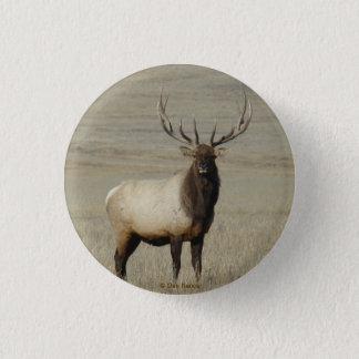 E0046 Bull Elk Button
