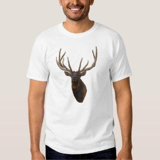 E0048 Bull Elk Head in Velvet T-shirt