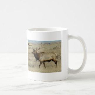 E0055 Bull Elk Classic White Coffee Mug