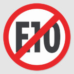 E10 boycott 3 sticker