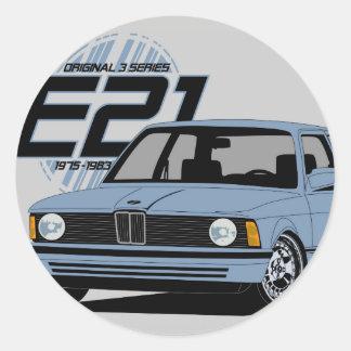 E21 The first 3 series Sticker