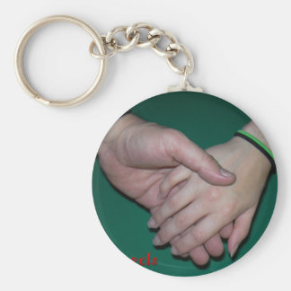 E2 Angels Holding Hands Key Chain