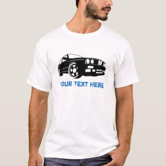 E30 M3 black + your text T-Shirt
