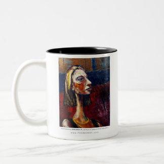 e323 - MIND MADE UP Two-Tone Coffee Mug