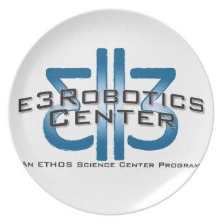E3 Robotics Swag Dinner Plate