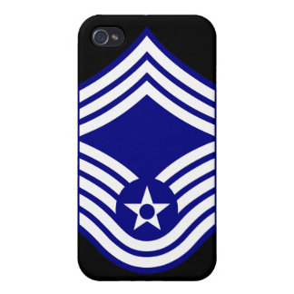 E9 CMSgt Chief Master Sergeant USAF iPhone 4 Covers