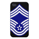 E9 CMSgt Chief Master Sergeant USAF Cover For iPhone 4