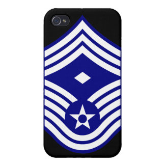 E9  First Sergeant USAF iPhone 4 Cases