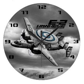 E-2 Hawkeye Large Clock